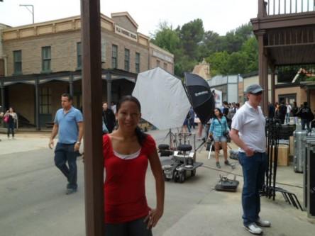 """Filming at Universal!"" - Kristina Sullivan, Universal Studios Hollywood, 100 Universal City Plaza  University City, CA 91608 (800) 864-8377"