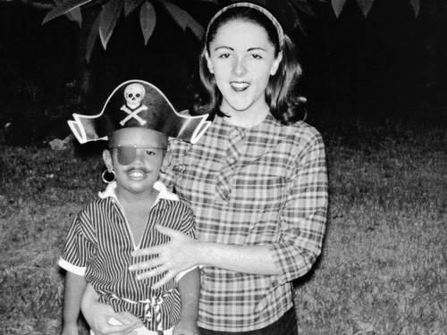 Stanley Ann Dunham and Barack Hussein Obama Jr.