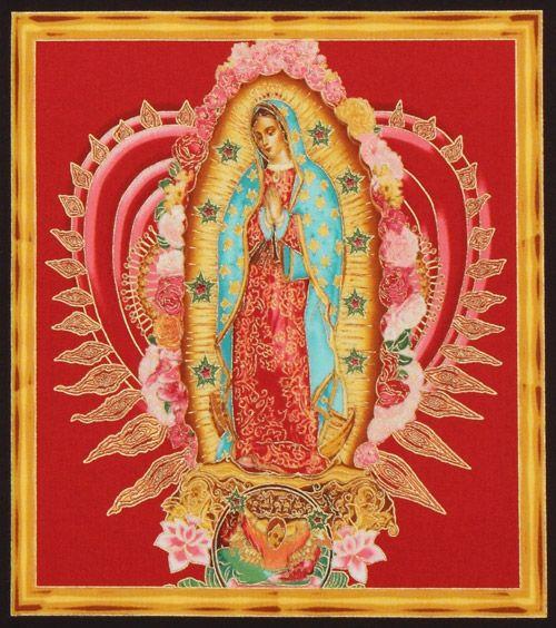 beautiful-colourful-Virgin-Mary-fabric-Robert-Kaufman-161251-4
