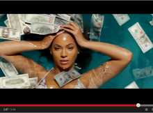"Life = Women (Beyonce) + Money. The ""Money Shot"" for the new ""Run"" video/short film!"